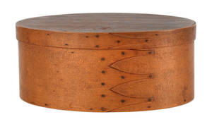 Oval Shaker bentwood box