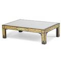 George iii style paintdecorated low table