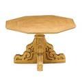 American folk art pine center table