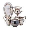 Sterling  silverplate group