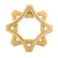 Bvlgari art deco 18k gold money clip