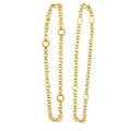 Two tiffany  co 23k gold neck chains