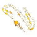 Chantecler capri marinelle maxi jellyfish necklace
