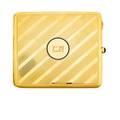 French art deco 18k gold cigarette case