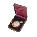 Tiffany  co 18k gold hunt case pocket watch