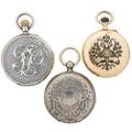 Chinese or russian market pocket watches 19th c