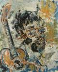 ANATOLY ZVEREV RUSSIAN 19311986 Portrait of Peter Panin
