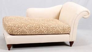 MILLING ROAD FOR BAKER UPHOLSTERED CHAISE LOUNGE