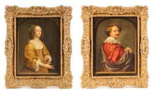 Collection of Portraits After Anthony van Dyck