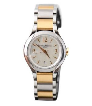 Ladies Baume  Mercier 65614 Two Tone Watch