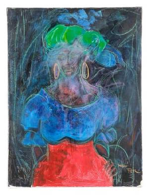 William Tolliver Gloria Mixed Media on Canvas