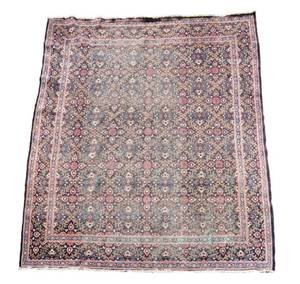 Hand Woven Persian Tabriz Rug 12 11 x 9 11