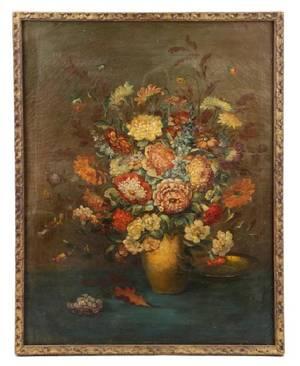 Joseph Hollenbeck Floral Still Life Circa 1890