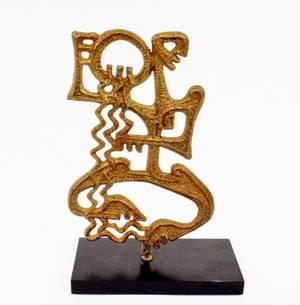 Frederick Weinberg Aquarius Sculpture
