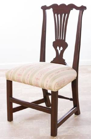Chippendale Side Chair Circa 1700s New Hampshire