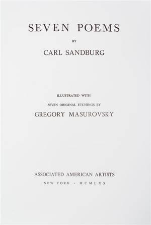 MASUROVSKY GREGORY SANDBURG CARL