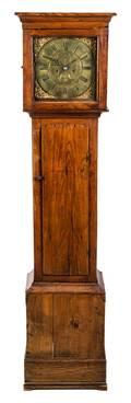 A Welsh Oak Tall Case Clock