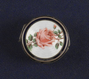 Austrian silver and enamel snuff box 19th c