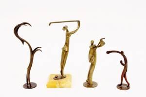 Four Small Hagenauer  Hagenauer Style Figures