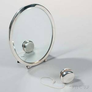 Tiffany  Co Sterling Silver Table Mirror and YoYo