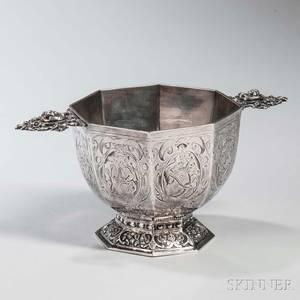 Dutch 833 Silver Bowl