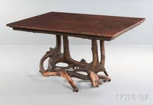 Adirondackstyle Root Table