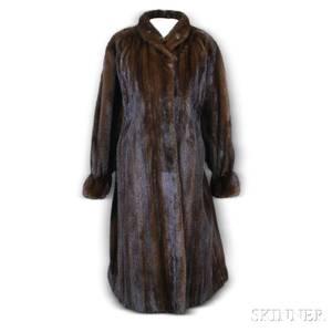 Valentino Mink Fur Coat