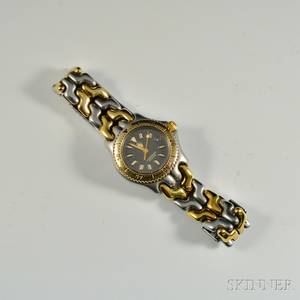 Tag Heuer Ladys Stainless Steel Wristwatch