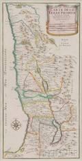 Holy Land Carte de la Terre Promise