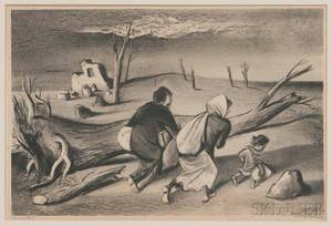 William Gropper American 18971977 Uprooted