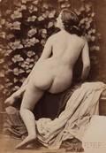 Oscar Gustave Rejlander British 18131875 Nude Female Study