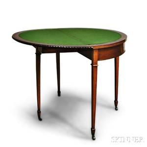Georgianstyle Card Table