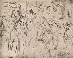 Jules Pascin French 18851930 Seeing New York