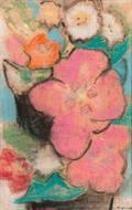 Agnes Weinrich American 18731946 Floral Still Life