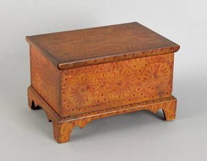 Miniature Pennsylvania painted blanket chest early 19th c