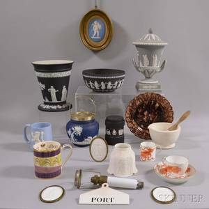 Eighteen Mostly Wedgwood Items
