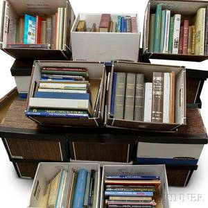 Extensive Group of Reference Books Related To Maritime and Textile Arts