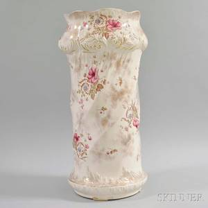 Royal Balmoral Floraldecorated Ceramic Umbrella Stand