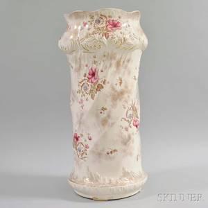 Royal Balmoral Floraldecorated Ceramic Umbrella Stand
