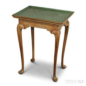 Diminutive Queen Annestyle Maple Tea Table