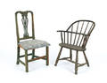 New England Queen Anne dining chair
