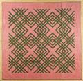 Pennsylvania carpenters square quilt ca 1870