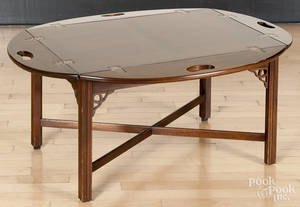 George III style butlers tray table
