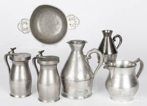 Pewter tablewares
