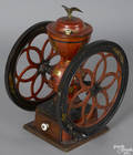 Enterprise Mfg Co painted cast iron country store coffee grinder