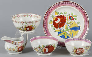 Kings Rose pearlware