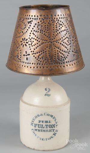 Kentucky stenciled twogallon stoneware jug