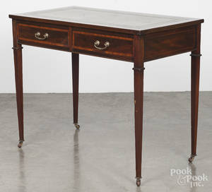 George III mahogany writing stand