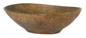 Massive New England burl bowl early 19th c