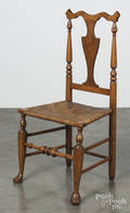 New England country Queen Anne dining chair
